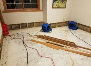 Photo of Water damage home restoration