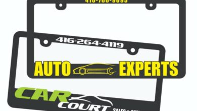 Photo of Raised License Plate Frame – Customize Your Vehicle
