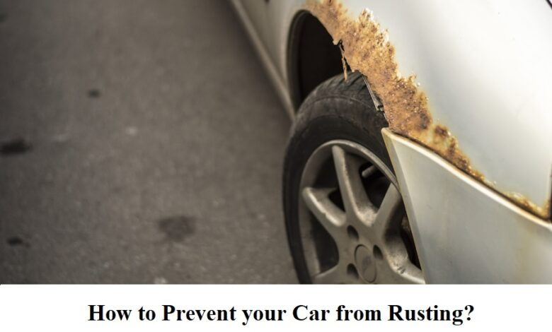 prevent your car from rusting