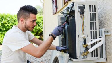 Photo of AC Water Leak Repair