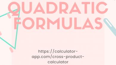 Photo of Quadratic Formula Theory