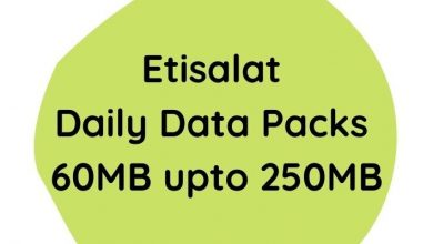Photo of How to subscribe on Etisalat data plan