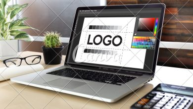 Photo of Types of logos. Analysis of the classification of logos according to shape and design