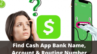 Photo of Cash app Account and Routing Numbers for Direct Deposit