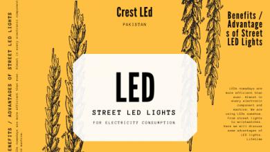 Photo of Benefits of Street LED Lights