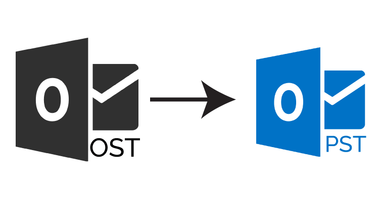 Convert Exchange OST to Outlook PST