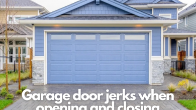 Photo of How to fix garage door jerks when opening and closing