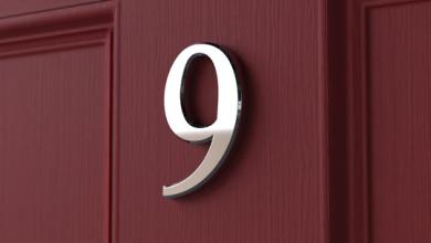 Photo of Front Door Numbers