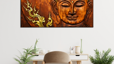 Photo of Importance of Hanging Buddha Wall Painting on the Wall of your House!