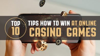Photo of Top 10 tips on how to win at online casino games