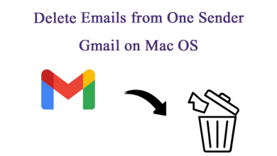 Photo of A Smart Trick to Erase Emails from One Sender on Gmail Account on Mac