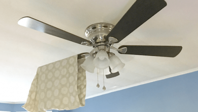 Photo of How To Clean Ceiling Fan Blades Without Ladder