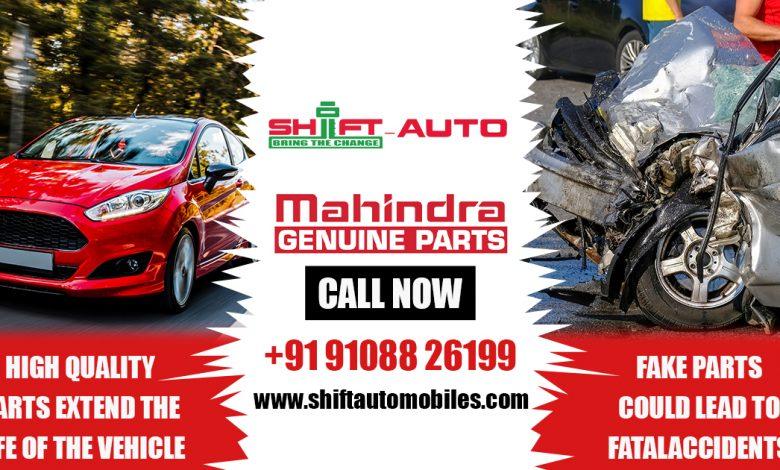 Mahindra Genuine Parts - Shiftautomobiles