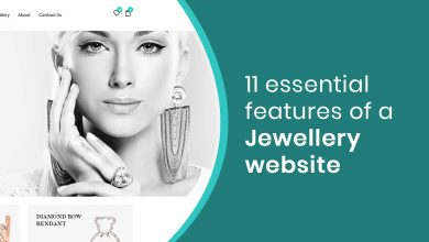 Photo of 11 essential features of a Jewellery website