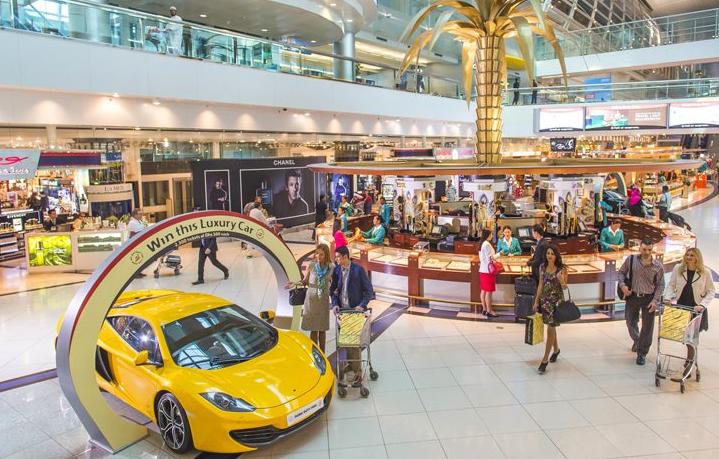 shopping at dubai airport